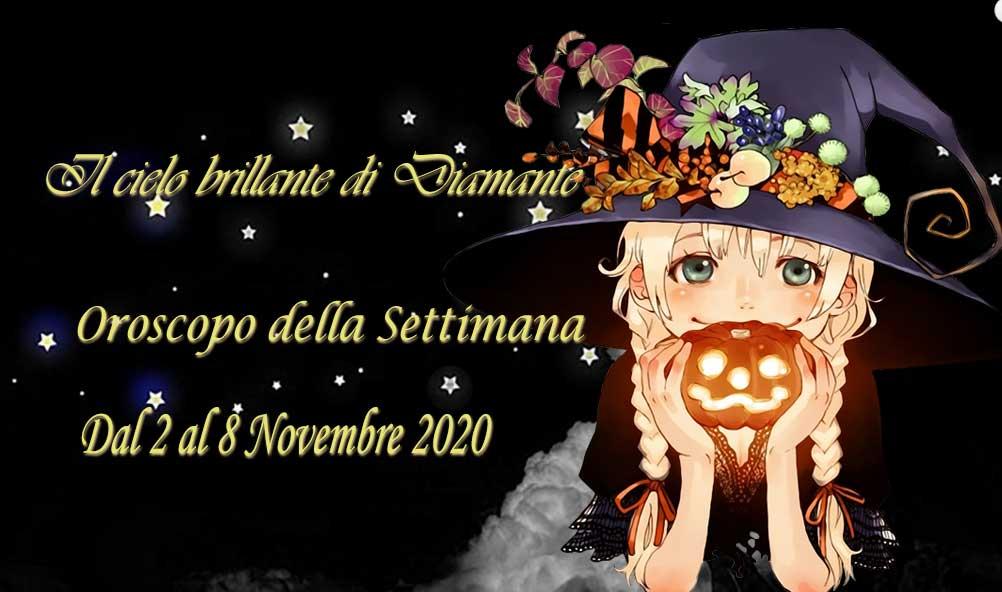 Oroscopo settimana dal 2 al 8 Novembre 2020